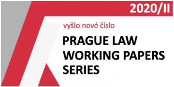 Prague Law Working Papers Series